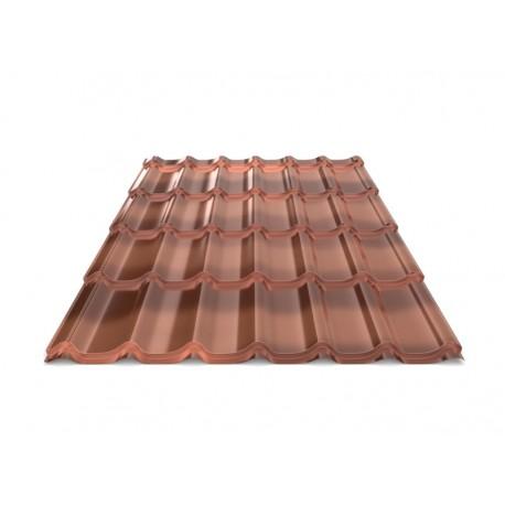 Металочерепиця Diament D23 Anticato Bronze 0,5 Dongbu ZN225 лакова