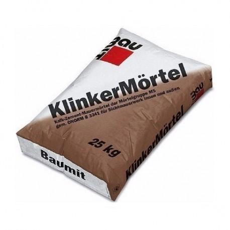 Кладочная смесь Баумит КлинкерМьортель (коричневый)