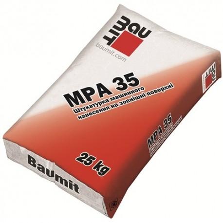 Штукатурка Баумит МПА-35