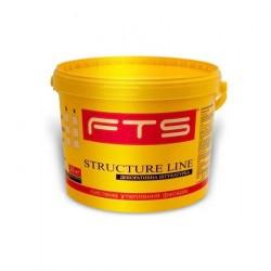 Штукатурка FTS Structure line акриловая, барашек 1,0/1,5/2,0 мм, короед 2,0/2,5 мм (25 кг)