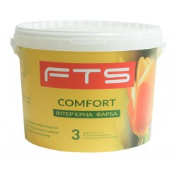 Фарба FTS Comfort 3 інтер'єрна (0,9 - 9 л)