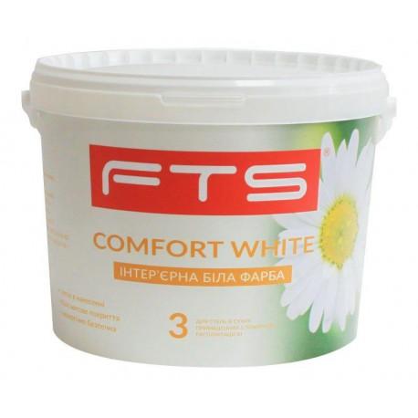 Фарба FTS Comfort white 3 інтер'єрна (0,9 - 9 л)