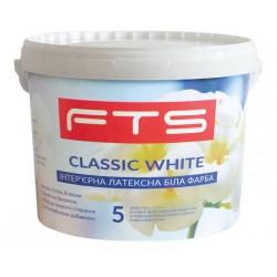 Фарба FTS Classic white 5 інтер'єрна латексна (1 - 10 л)