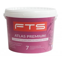 Краска FTS Atlas premium 7 интерьерная шелковисто-матовая (1 - 10 л)