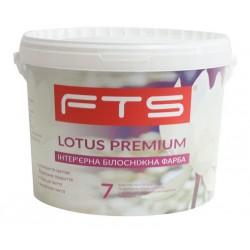Краска FTS Lotos premium 7 интерьерная белоснежная (1 - 10 л)