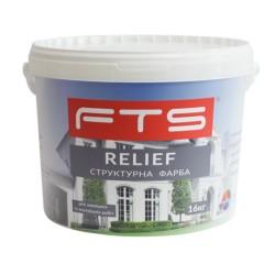 Краска FTS Relief структурная акриловая (10 л)
