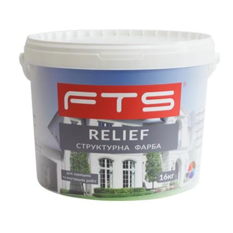 Фарба FTS Relief структурна акрилова (10 л)