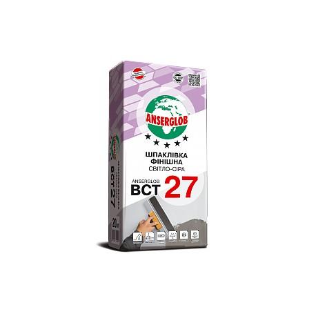 Шпаклевка Ансерглоб BCT 27 финишная
