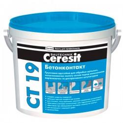 Грунт адгезионный Бетонконтакт Ceresit CT-19
