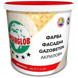 Фарба фасадна Ансерглоб Gazobeton акрилова
