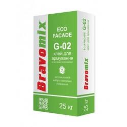 Клей Bravomix G-02 для армир.и прикл. теплоизоляционных плит