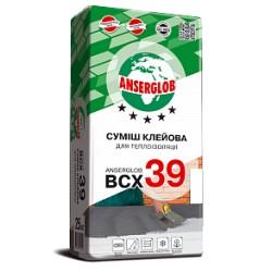 Клей Anserglob BCХ 39 для теплоизоляции