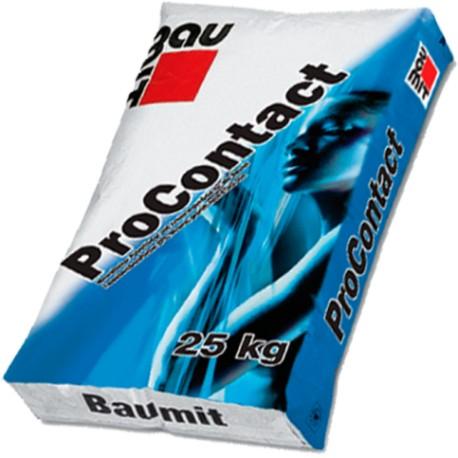 Суміш клейова і армуюча Бауміт ProContact для утеплювача