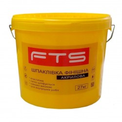 Шпаклевка FTS акриловая финишная (27 кг)