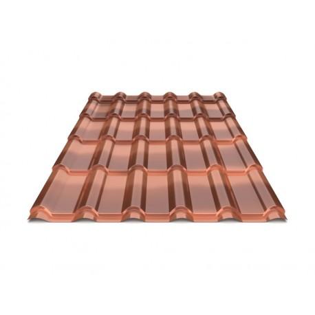 Металочерепиця Дюна МАХІ 15 0,5 Anticato Bronze