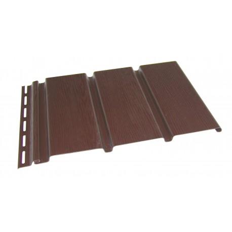 Софит панель Budmat перфорированная / без перфорации светло-коричневая